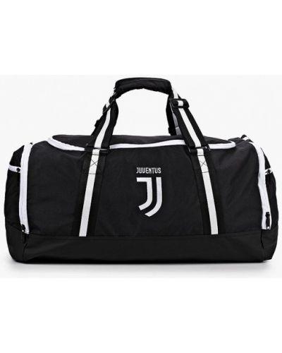 Клубная текстильная черная спортивная сумка Atributika & Club™