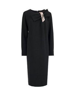 Деловое платье черное Via Torriani 88