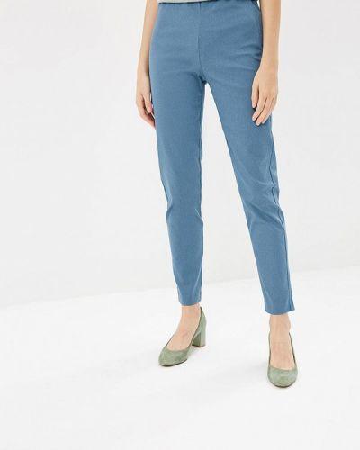 Синие брюки с завышенной талией Befree