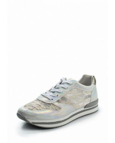 Кроссовки серебряного цвета Rio Fiore