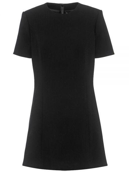 Платье мини модерн шерстяное Saint Laurent