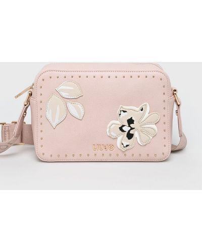 Розовая маленькая сумка Liu Jo