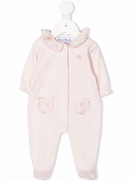 Piżama z długimi rękawami - różowa Tartine Et Chocolat