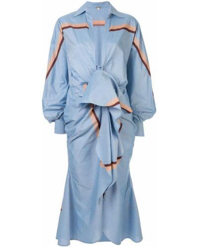 Платье миди облегающее макси Johanna Ortiz