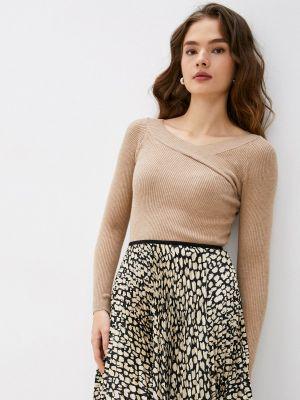 Пуловер - коричневый Goldrai