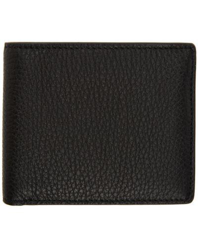 Biały portfel z gniazdem z prawdziwej skóry prążkowany Maison Margiela