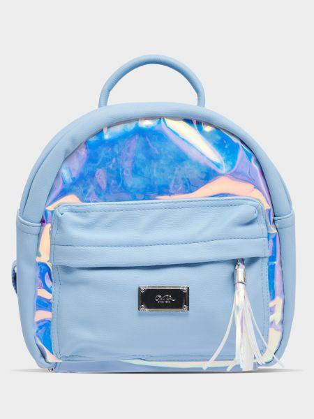Кожаный рюкзак - голубой Ara