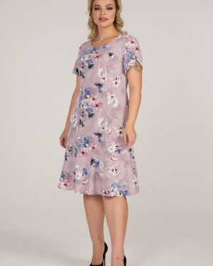 Повседневное платье платье-сарафан с оборками марита