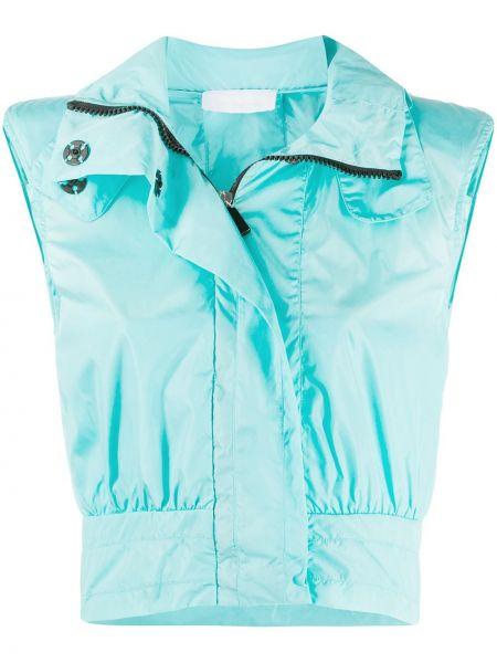 Синяя нейлоновая куртка No Ka 'oi
