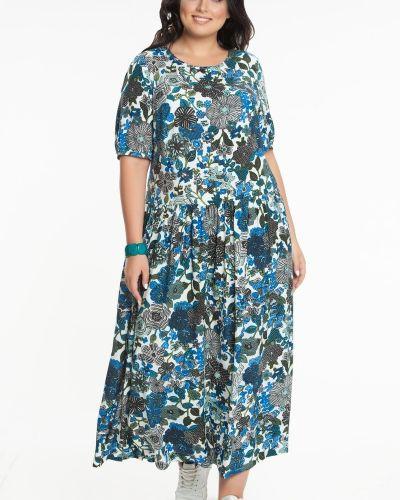 Платье макси из штапеля прима линия