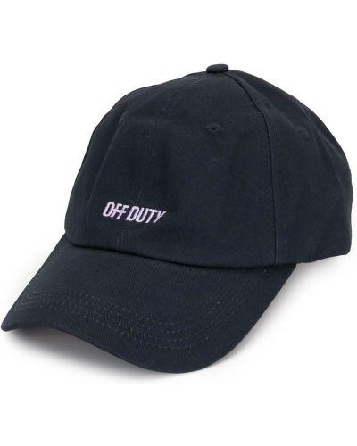 Niebieski baseball bawełna czapka baseballowa Off Duty
