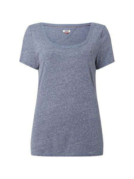 Dżinsowa koszula na wysokości z haftem Tommy Jeans