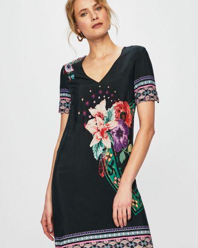 Платье мини из вискозы прямое Desigual