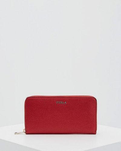 Красный кошелек Furla