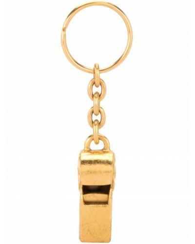 Brelok pozłacany złoto Chanel Pre-owned