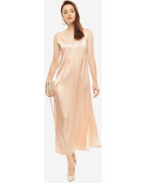 Платье розовое платье-сарафан Olga Skazkina