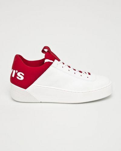 Кроссовки на платформе с логотипом с нашивками Levi's®