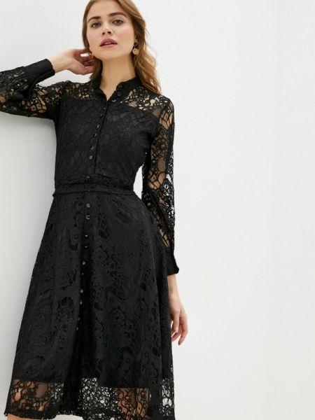 Вечернее платье черное весеннее Trendyangel