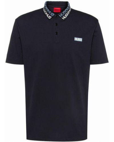 Niebieska koszulka Hugo Boss