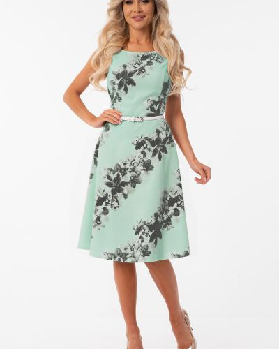 Платье на молнии на торжество круглое Wisell