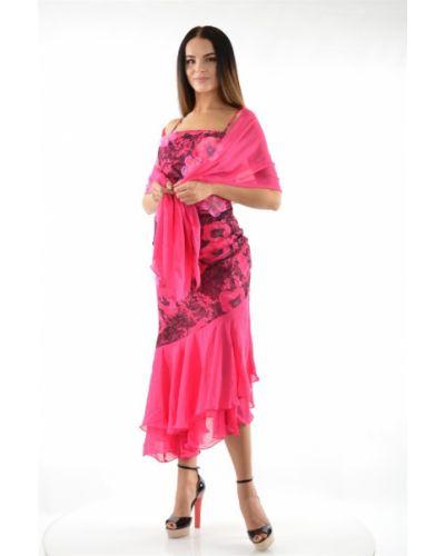 Вечернее платье для выпускного розовое Jan Steen