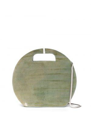 Кожаная сумка круглая Cecchi De Rossi