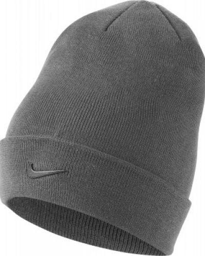 Спортивная шапка - серая Nike