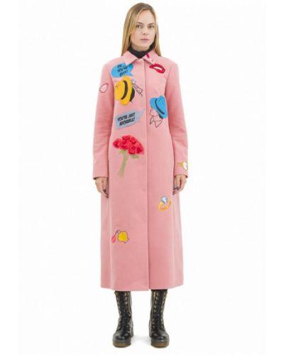 Розовое пальто Pavel Yerokin