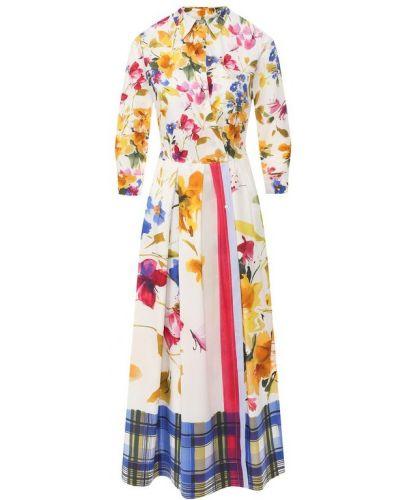 Платье платье-комбинация на пуговицах Sara Roka