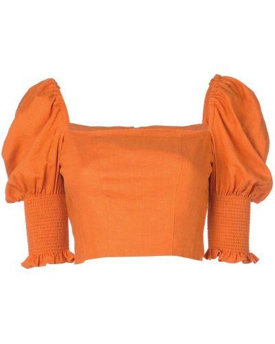 Кроп-топ бюстье с открытой спиной Nicholas