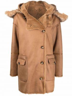 Brązowy długi płaszcz Urbancode