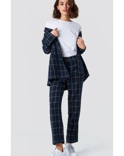 Широкие брюки - синие Na-kd