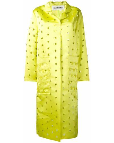 Пальто пальто желтое Caban Romantic