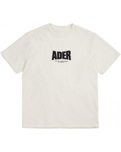 T-shirt - biała Ader Error