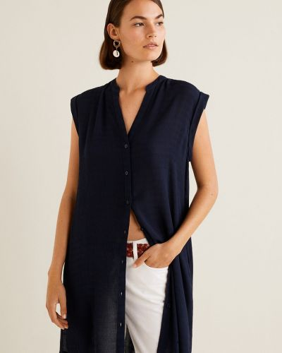 Блузка в полоску прямая Mango