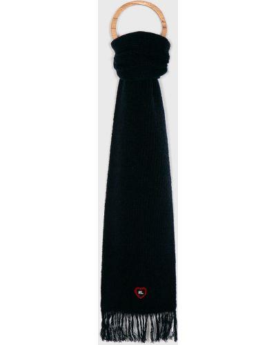 Szalik wełniany z frędzlami Polo Ralph Lauren