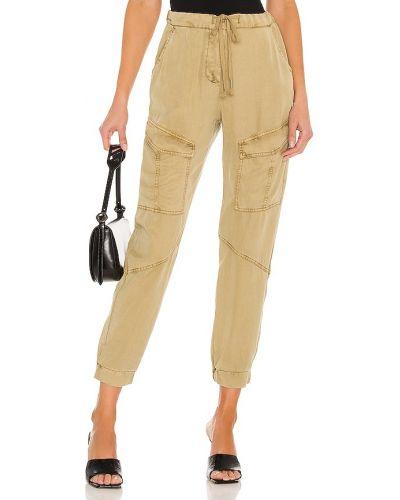 Брюки карго - бежевые Yfb Clothing
