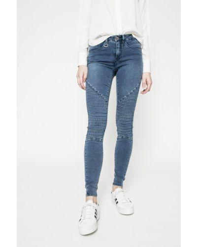 Синие джинсы-скинни Only