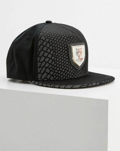 Черная кепка спортивная Plein Sport