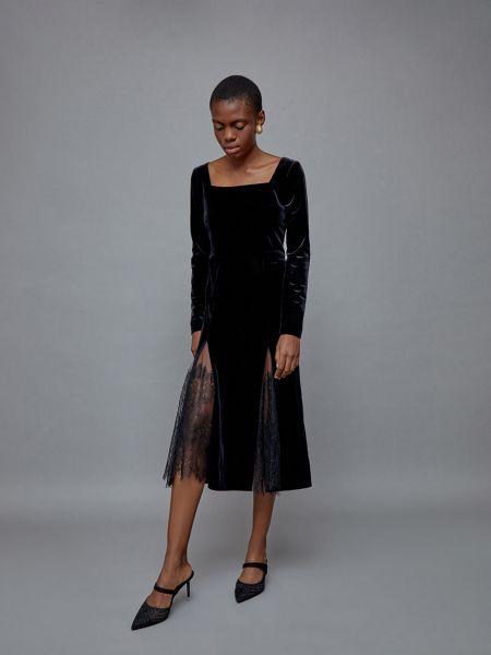 Платье со вставками 12storeez