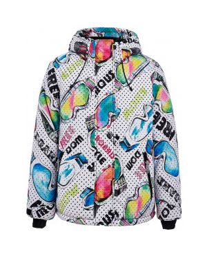 Зимняя куртка на синтепоне демисезонная Button Blue