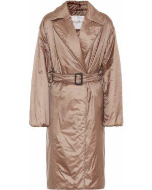 Пальто зеленое с запахом Max Mara