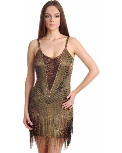 Платье шелковое осеннее Roberto Cavalli