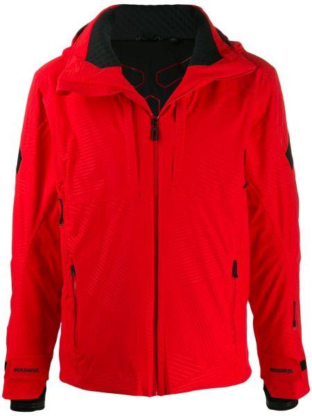 Куртка горнолыжная с капюшоном - красная Rossignol