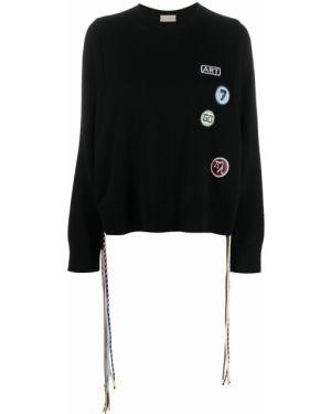 Кашемировый длинный свитер круглый с вырезом Mrz