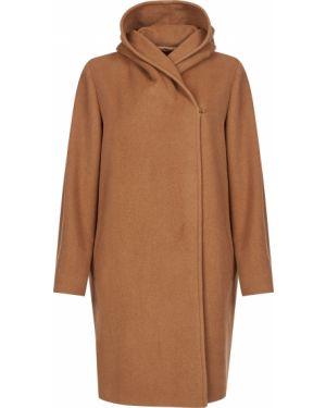 Шерстяное пальто - коричневое Max Mara