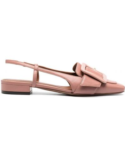 Кожаные розовые туфли-лодочки на каблуке L'autre Chose