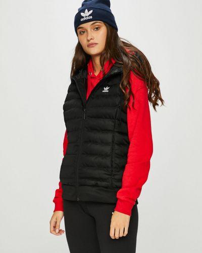 Стеганая жилетка утепленная с капюшоном Adidas Originals