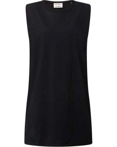 Czarna sukienka bez rękawów Catwalk Junkie