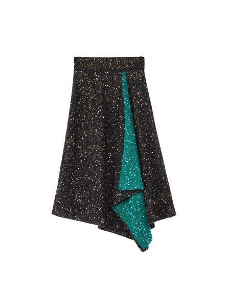 Czarna spódnica Loewe